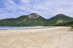Dois Rios Beach in Ilha Grande Island, Brazil Stock Photography