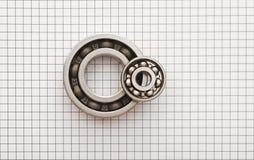 Dois rolamentos de esferas Imagem de Stock
