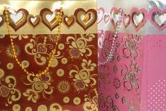 Dois sacos do presente Imagens de Stock Royalty Free