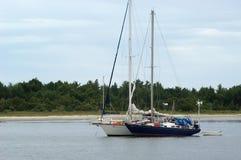 Dois Sailboats, vista dianteira Foto de Stock Royalty Free