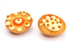 Dois sanduíches Imagem de Stock Royalty Free
