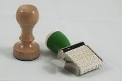 Dois selos pequenos Fotos de Stock Royalty Free