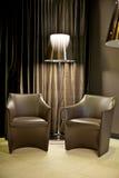 Dois sofás Fotografia de Stock Royalty Free