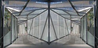 Dois túneis Fotos de Stock