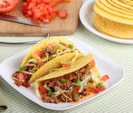 Dois Tacos fotografia de stock
