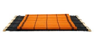 Dois tapetes de bambu japoneses. Imagem de Stock