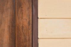 Dois Tone Wooden Imagens de Stock Royalty Free