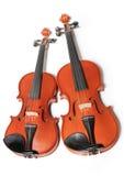 Dois violinos Imagem de Stock Royalty Free