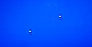 Dois waterdrops Fotografia de Stock Royalty Free