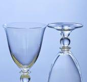 Dois wineglasses Foto de Stock