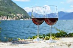 dois wineglasses Fotografia de Stock Royalty Free