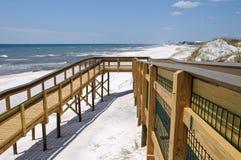 dojazdowa plażowa rampa fotografia royalty free