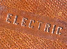 dojazdowej pokrywy eelectrical system Zdjęcia Royalty Free