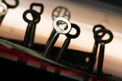 dojazdowi klucze Fotografia Royalty Free