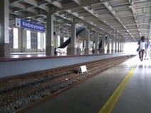 Dojeżdżający linii stacja Zdjęcia Stock