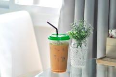 Dojna herbata lub Tajlandzka dojna herbata Obraz Royalty Free