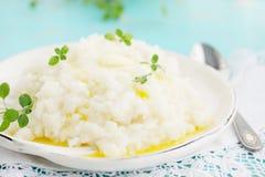 Dojna ryżowa owsianka Obraz Royalty Free