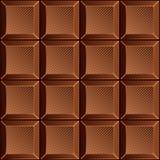 Dojnego cukierku czekoladowi bary również zwrócić corel ilustracji wektora bezszwowy wzoru Zdjęcia Stock