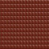 Dojnej czekolady bezszwowej deseniowej karmowej tekstury ciemna realistyczna siatka Obraz Stock