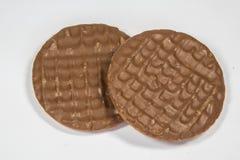 Dojnej czekolady digestives Obraz Stock