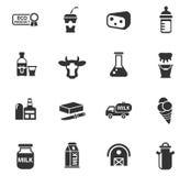 Dojny ikona set royalty ilustracja