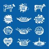 Dojny logo, ikony i projektów elementy, royalty ilustracja
