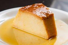 Dojny puddingu deser Zdjęcia Stock