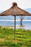 dojran hdr图象湖马其顿 免版税库存照片
