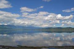 Dojran jezioro Macedonia fotografia royalty free