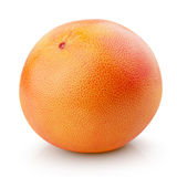 Dojrzała grapefruitowa cytrus owoc odizolowywająca na bielu Fotografia Stock