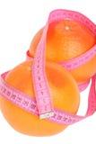 dojrzała grapefruits czerwień fotografia royalty free