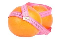 dojrzała grapefruits czerwień obrazy stock