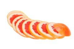 dojrzała grapefruits czerwień zdjęcie stock