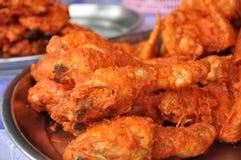 Dojrzała pieczony kurczak Łydka Zdjęcie Royalty Free