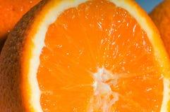 dojrzała pomarańczowa proporcja zdjęcie stock