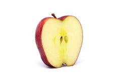 Dojrzałe czerwone jabłczane owoc Obrazy Stock