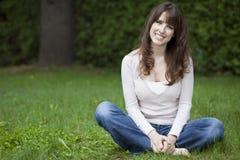dojrzałego portreta uśmiechnięta kobieta obrazy royalty free
