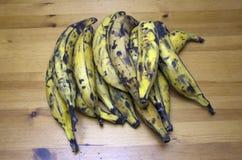 Dojrzały banan Zdjęcia Royalty Free