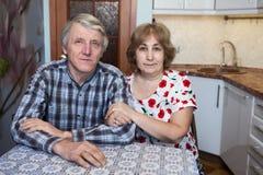 Dojrzały mąż, żona i obrazy stock