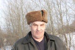 dojrzały mężczyzna portret Obrazy Royalty Free