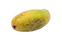 Dojrzały mango na białym tle Zdjęcie Royalty Free