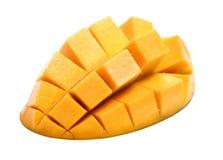 Dojrzały mango, sześcianu cięcie, zdjęcie royalty free