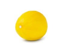 Dojrzały melon na białym tle Zdjęcia Royalty Free