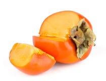 Dojrzały persimmon zdjęcie stock