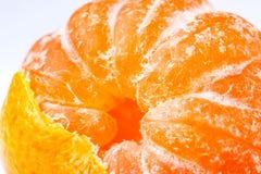 Dojrzały soczysty tangerine zdjęcie royalty free
