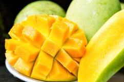 dojrzałe mango Obrazy Royalty Free