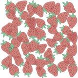 Dojrzałe soczyste truskawki od pola Fotografia Stock