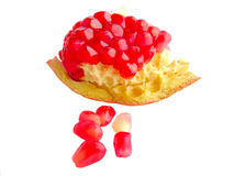 Dojrzała granatowiec owoc obrazy royalty free