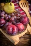 Dojrzała owoc od domu ogródu Obraz Stock