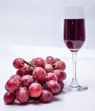 Dojrzały czerwony winogrono Zdjęcie Royalty Free